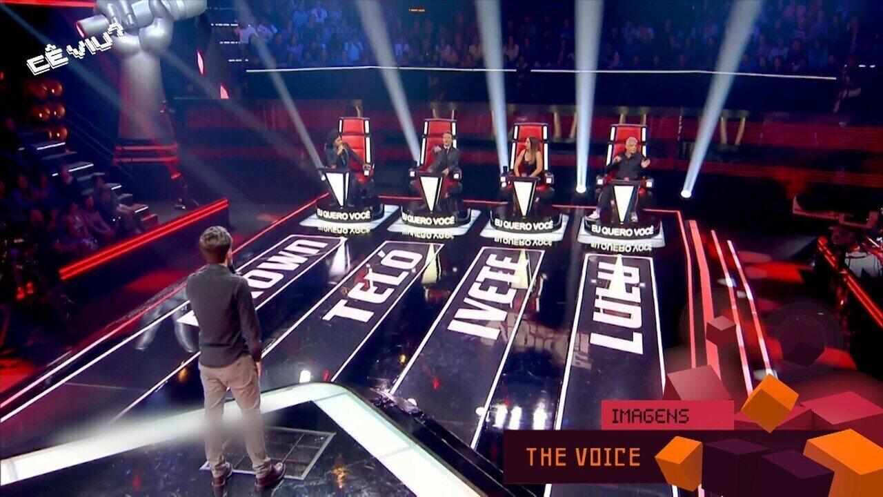 Reveja: Douglas Alessi comenta sobre participação no 'The Voice Brasil'