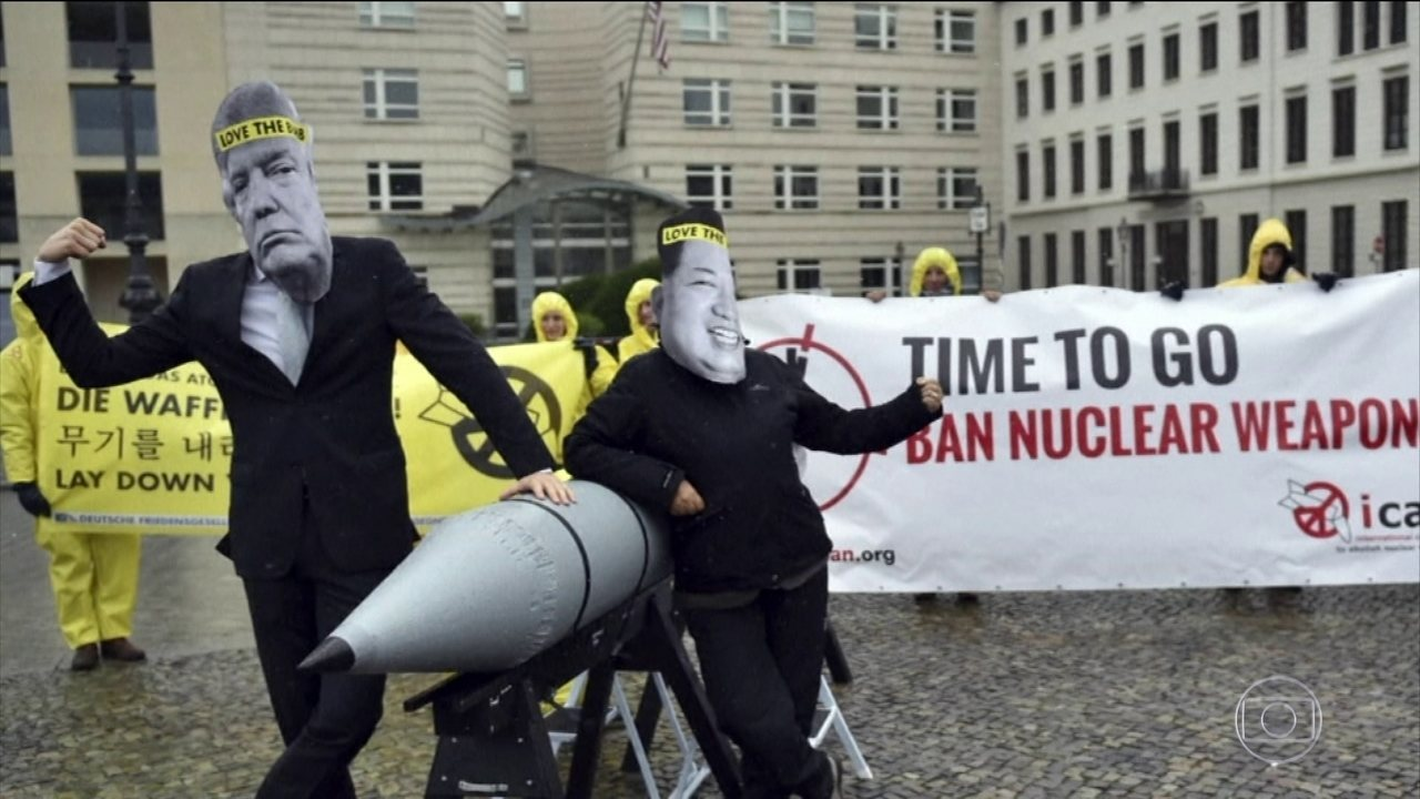 Organização internacional para a abolição de armas nucleares ganha o Prêmio Nobel da Paz