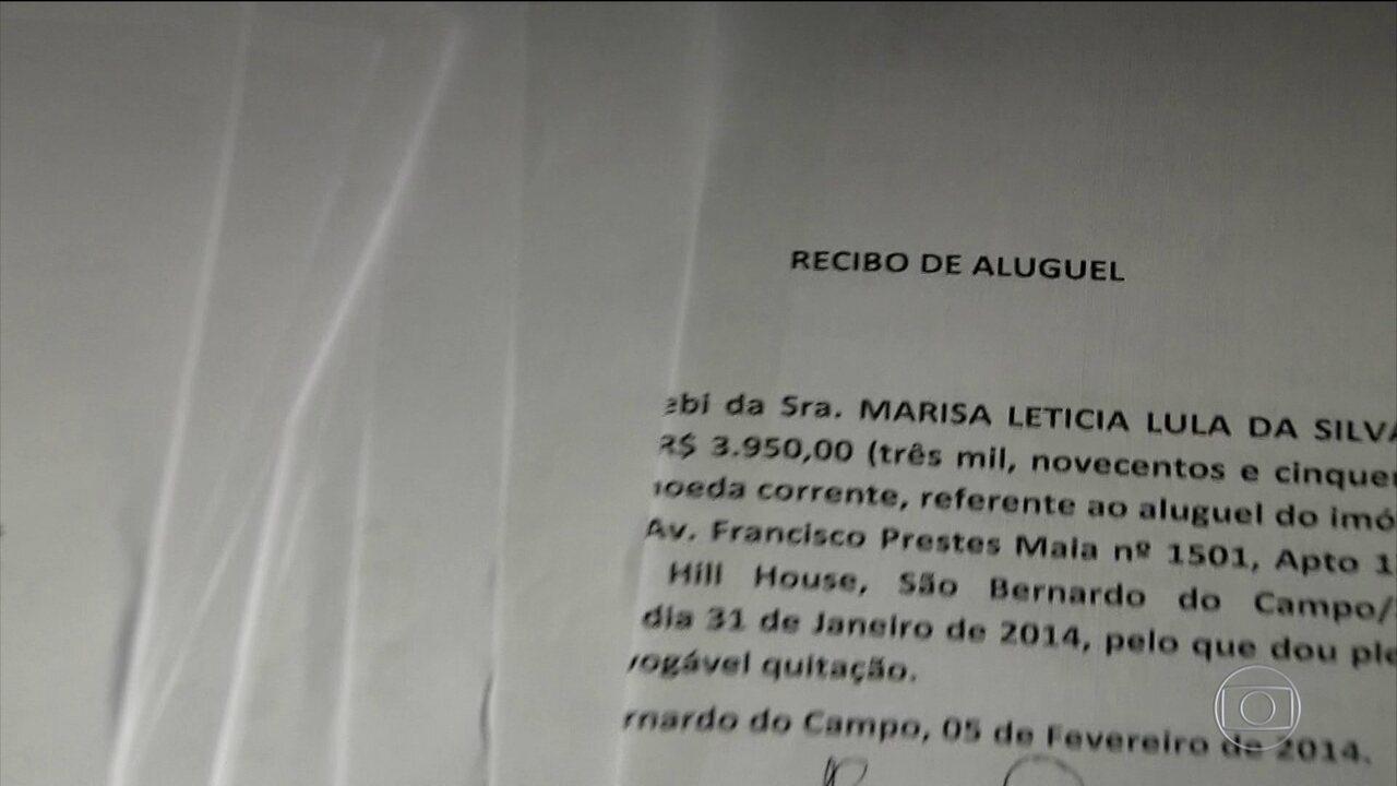 MPF vê indicativos de falsidade em recibos apresentados por Lula