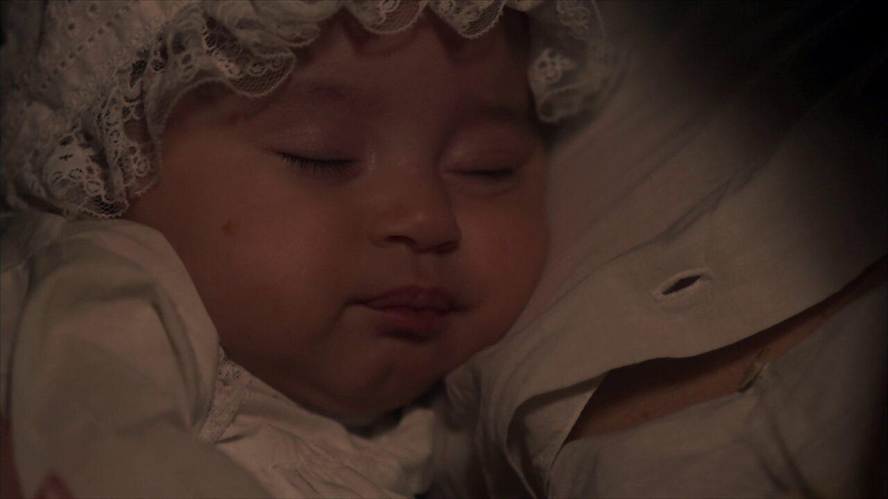 Nasce a filha de Maria Vitória e Inácio