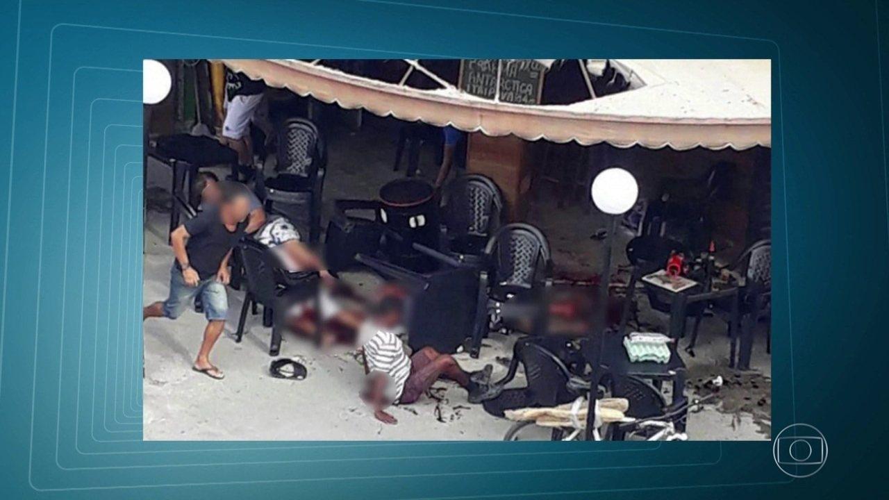 Ataque a bar na Baixada Fluminense deixa ao menos cinco feridos