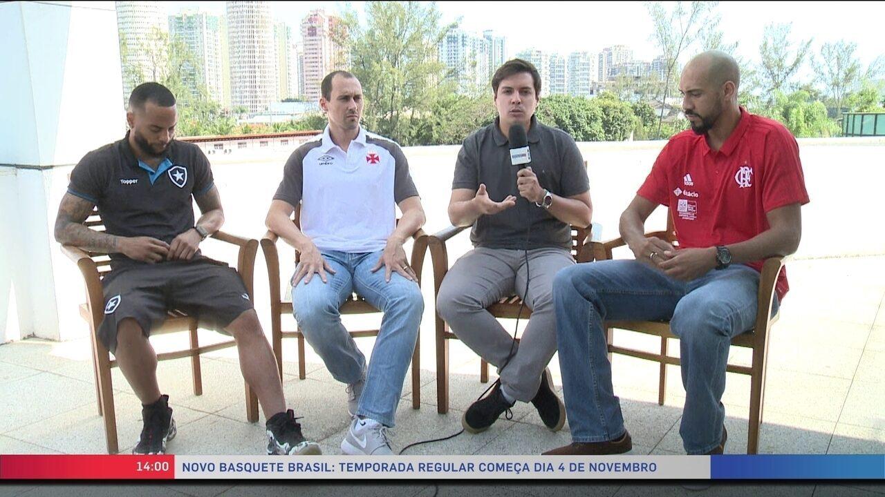 Atletas de Botafogo, Vasco e Flamengo projetam NBB