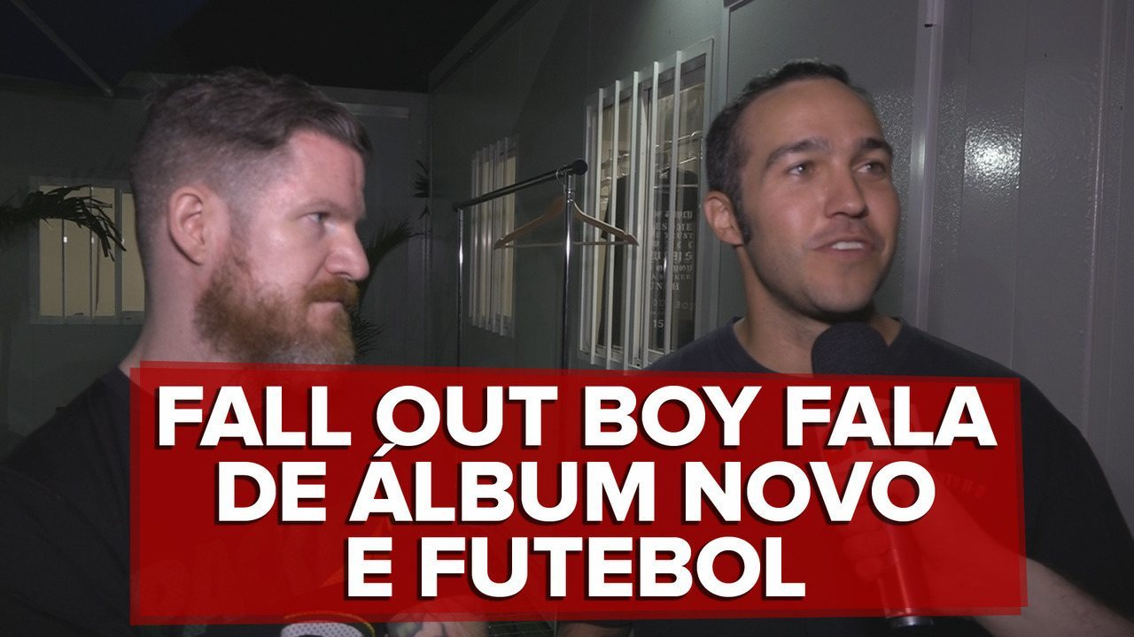 Fall Out Boy fala de disco novo e mudanças no som da banda