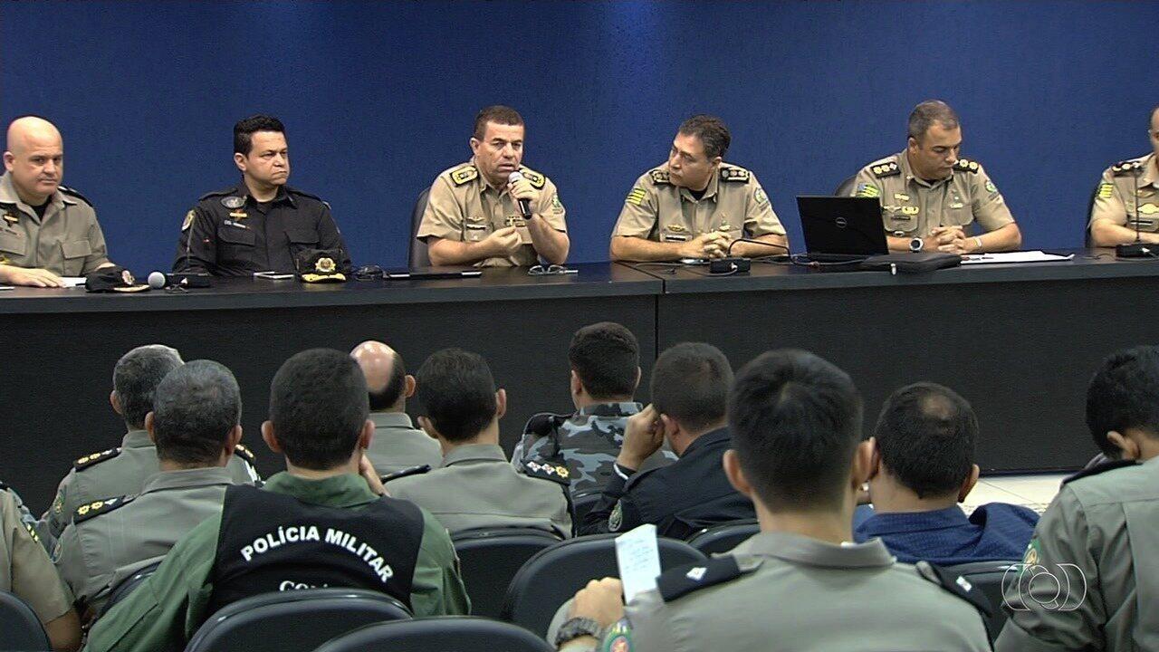 PM-GO apresenta esquema de segurança para clássico entre Vila Nova e Goiás