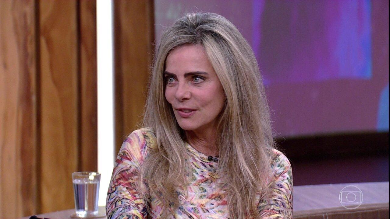 Bruna Lombardi fala sobre sua relação com o tempo