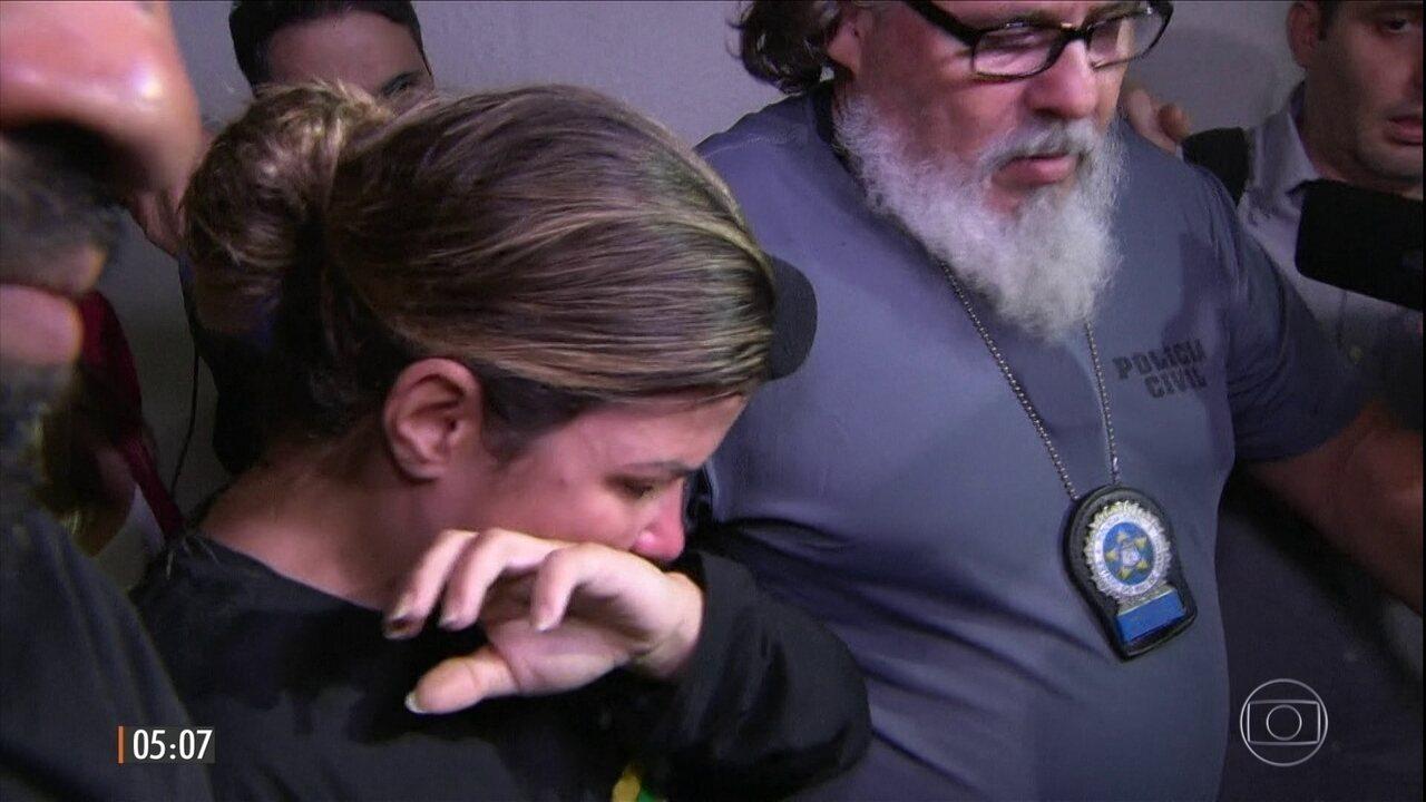 Polícia prende mulher do traficante Nem em operação na Rocinha, Danúbia Rangel