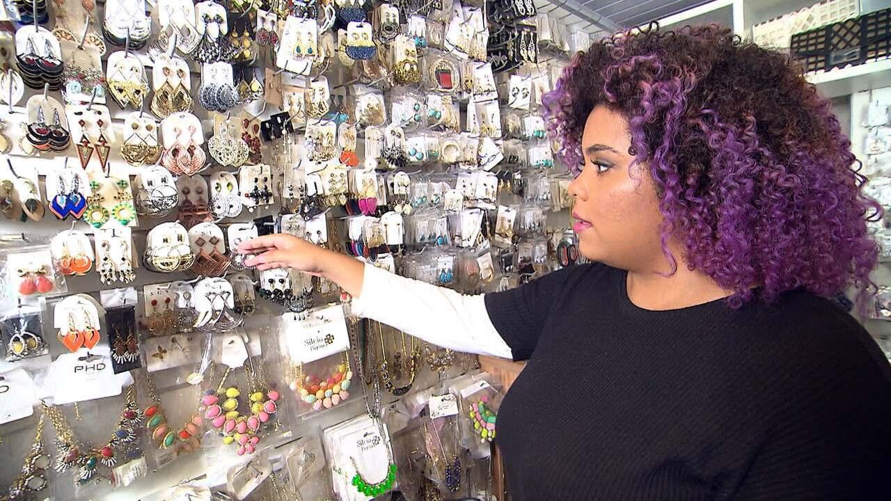 'Expresso' faz garimpo de acessórios na Rua Chile, Salvador