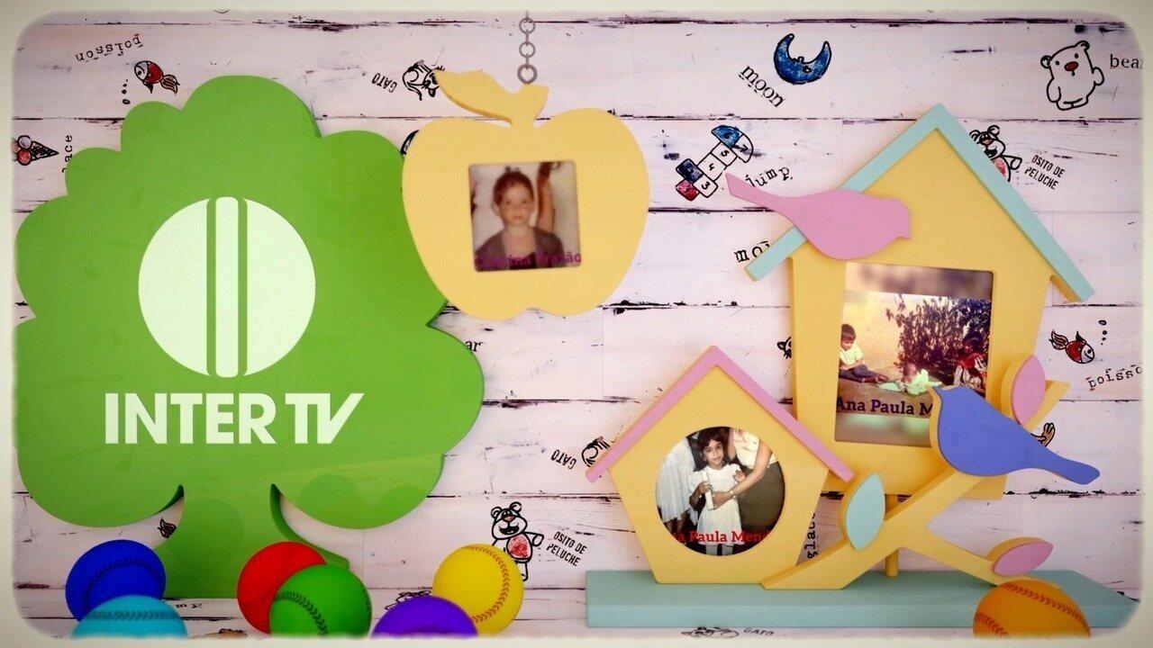 Vídeo especial do Dia das Crianças mostra jornalistas da Inter TV quando crianças (Edição de Arte: Rafael Sousa/Inter TV)