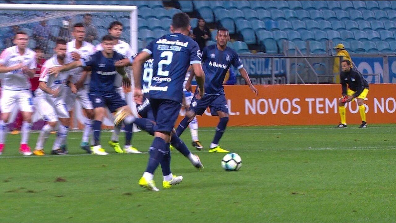 Melhores momentos de Grêmio 0 x 1 Cruzeiro pela 27ª rodada do Brasileirão 2017
