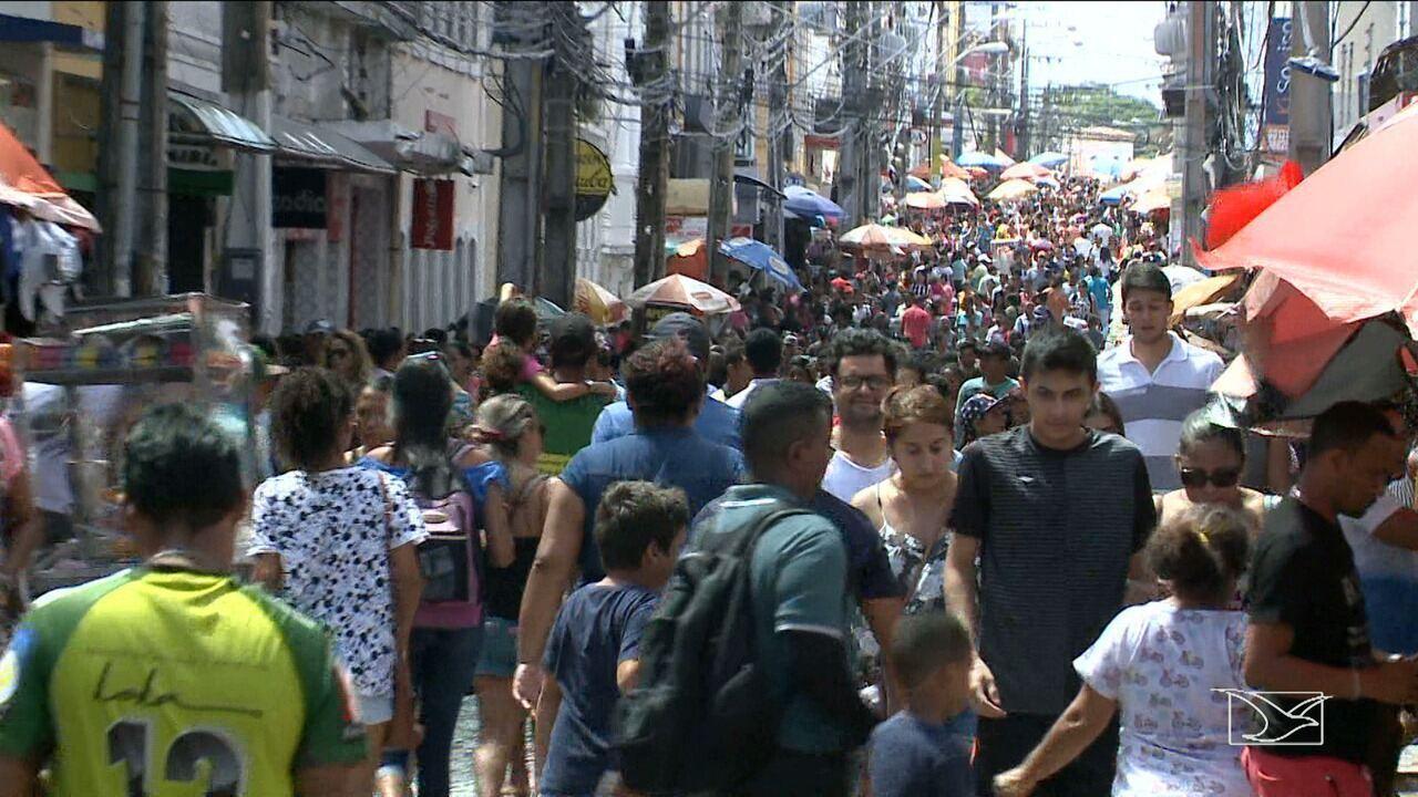 Mais de 700 vagas serão criadas no comércio em São Luís para o Natal