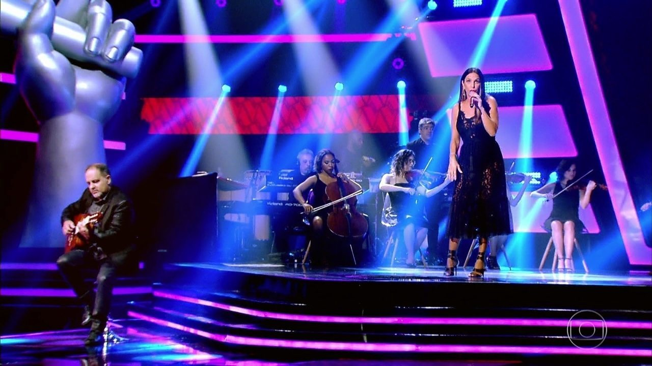 Ivete Sangalo canta 'For Your Babies'
