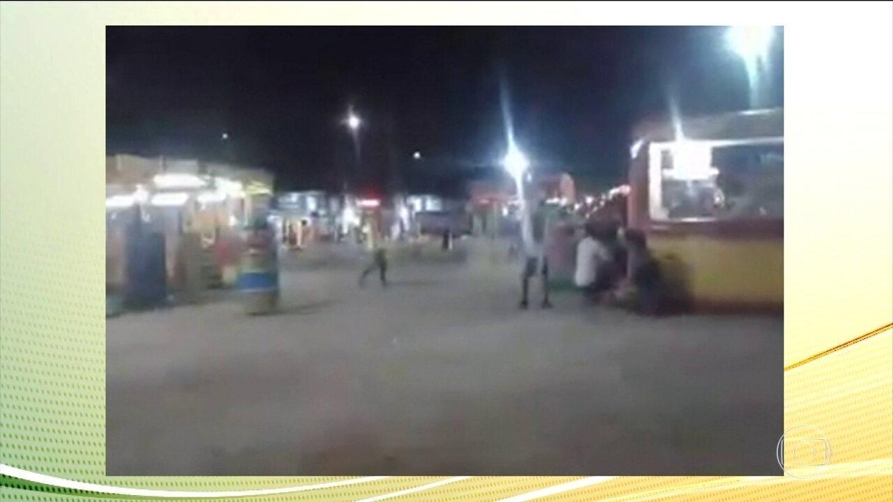 Tiroteio perto de parque deixa crianças e pais apavorados na Baixada Fluminense