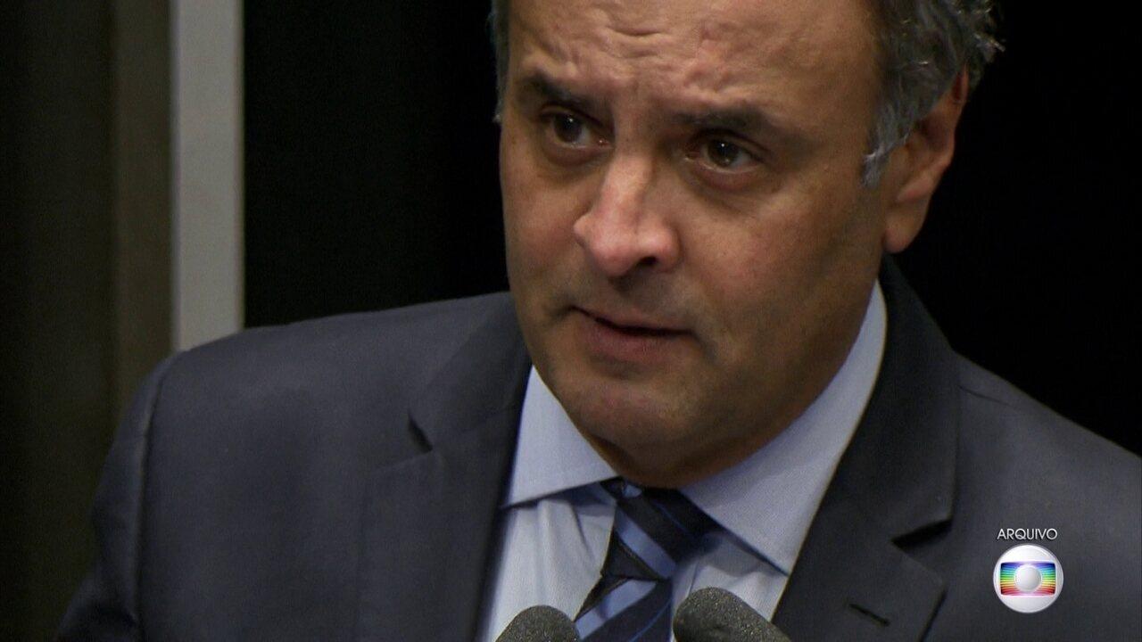Sessão que vai definir afastamento ou não de Aécio Neves vai ser nominal e aberta