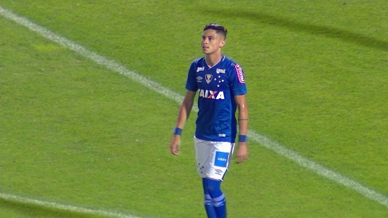 Cruzeiro explica que contrato obrigou venda de Diogo Barbosa ao Palmeiras