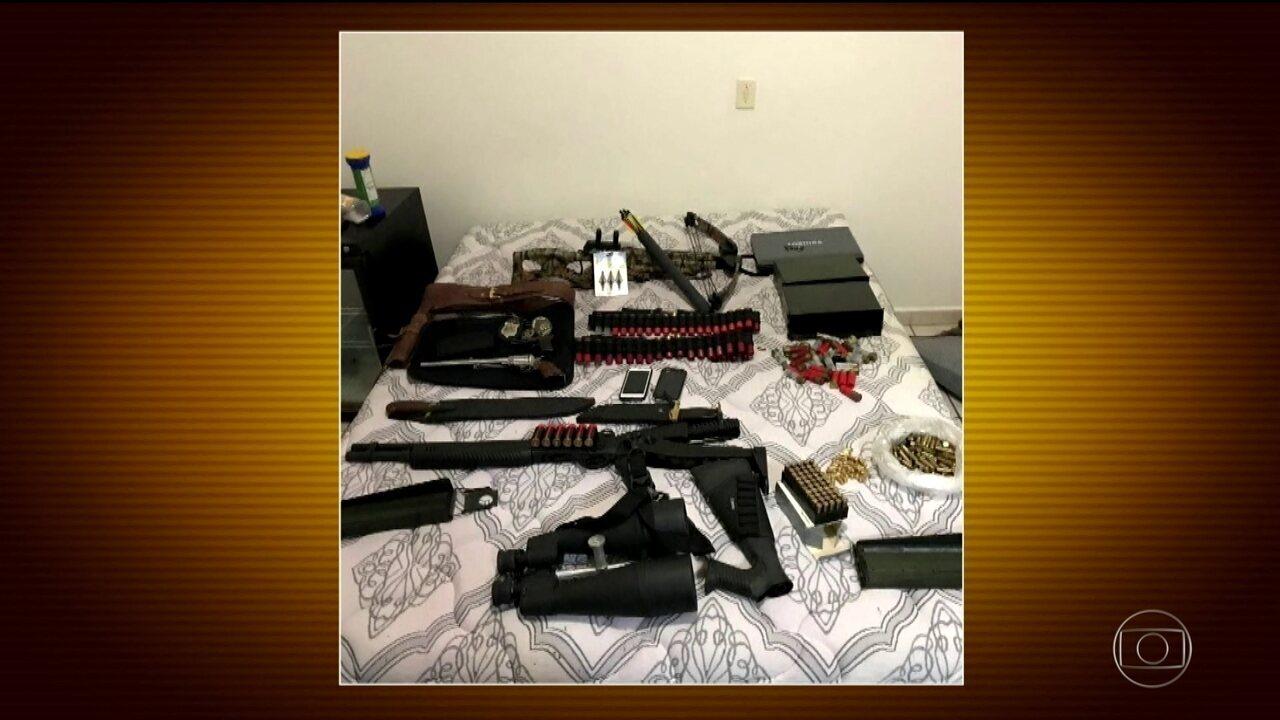 Polícia faz megaoperação de combate ao tráfico de armas e drogas em SP