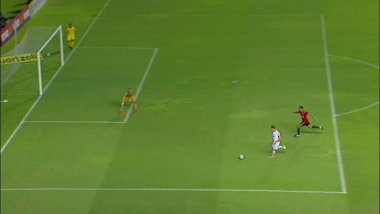 Melhores momentos: Sport 1 x 1 Santos pela 29ª rodada do Brasileirão 2017