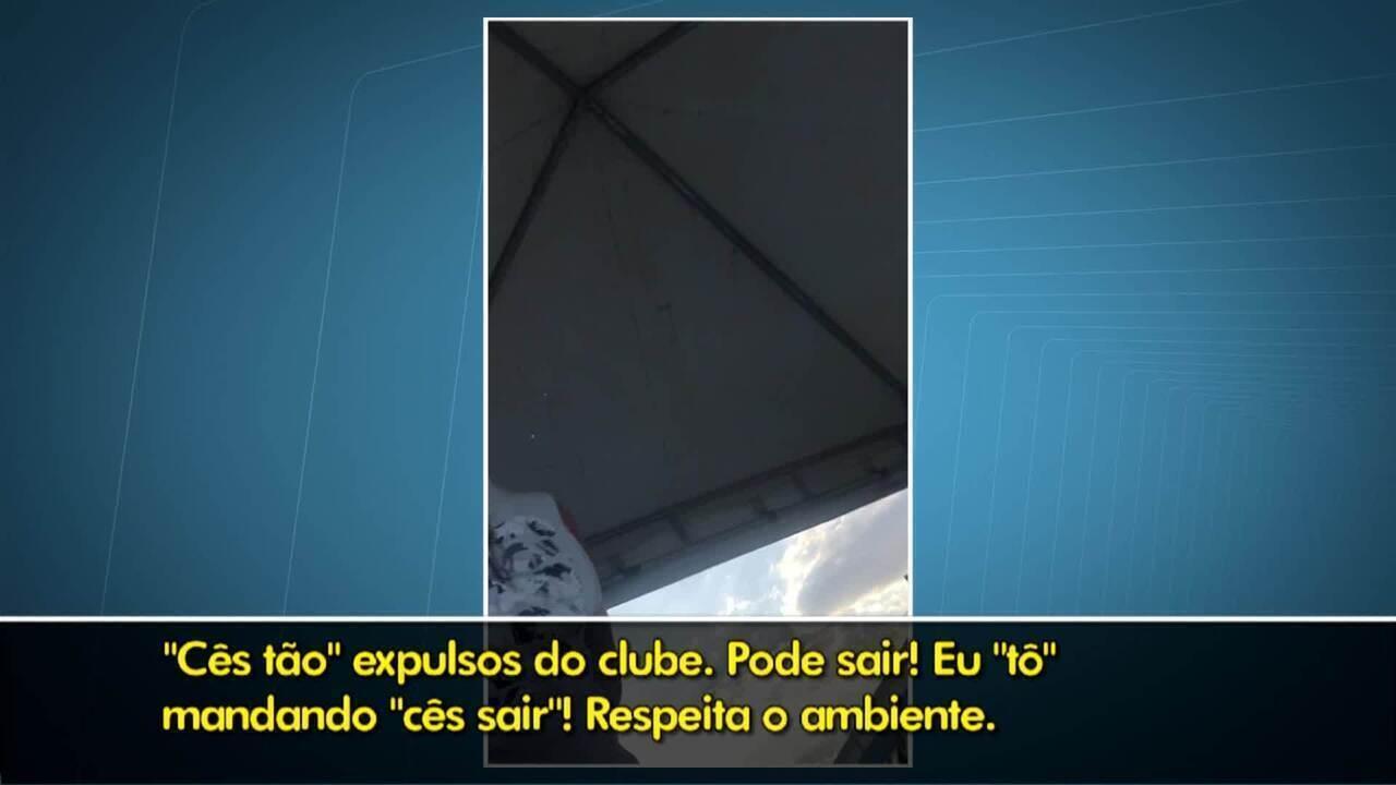 Vídeo mostra diretor do clube Agepol, em Brasília, ofender jovem por ser homossexual