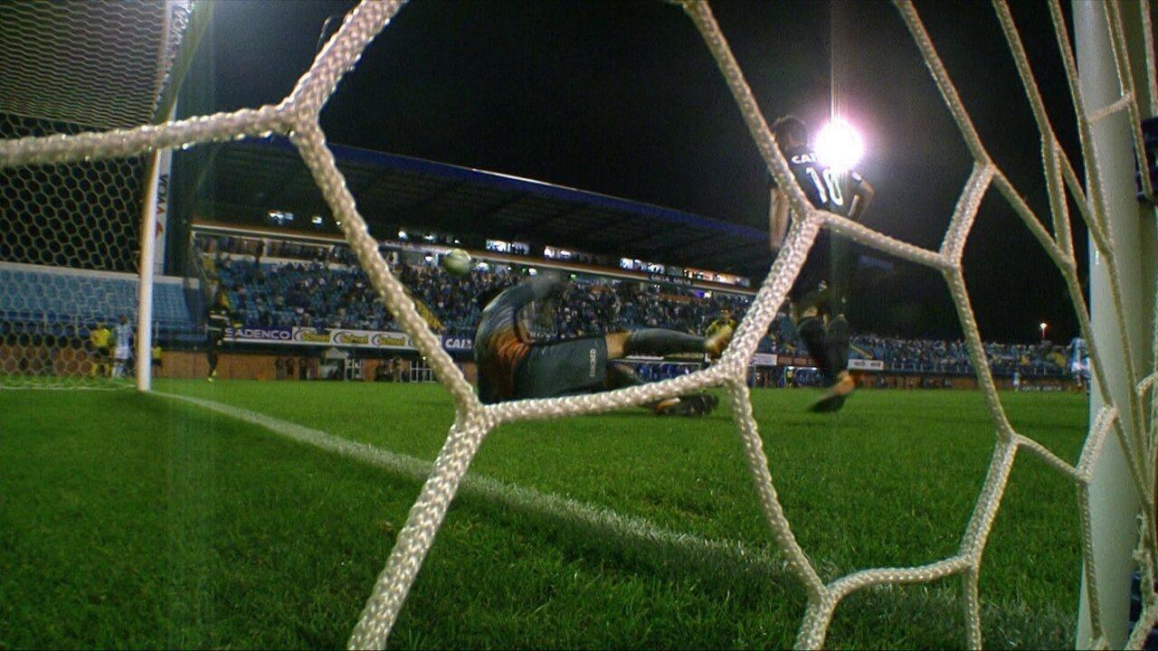 Gatito Fernandez salva o Botafogo e é o