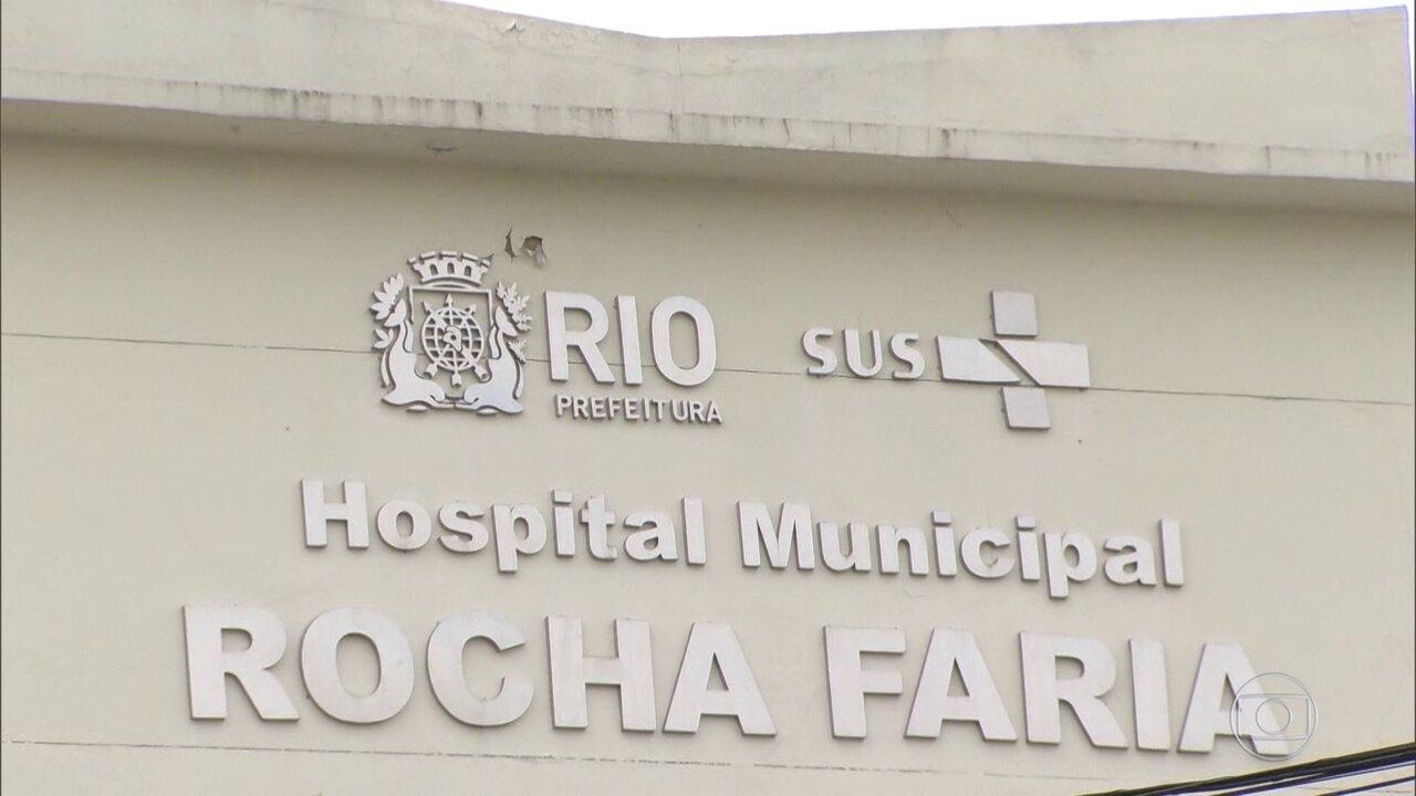 Hospital Rocha Faria restringe atendimento para pacientes em estado muito grave