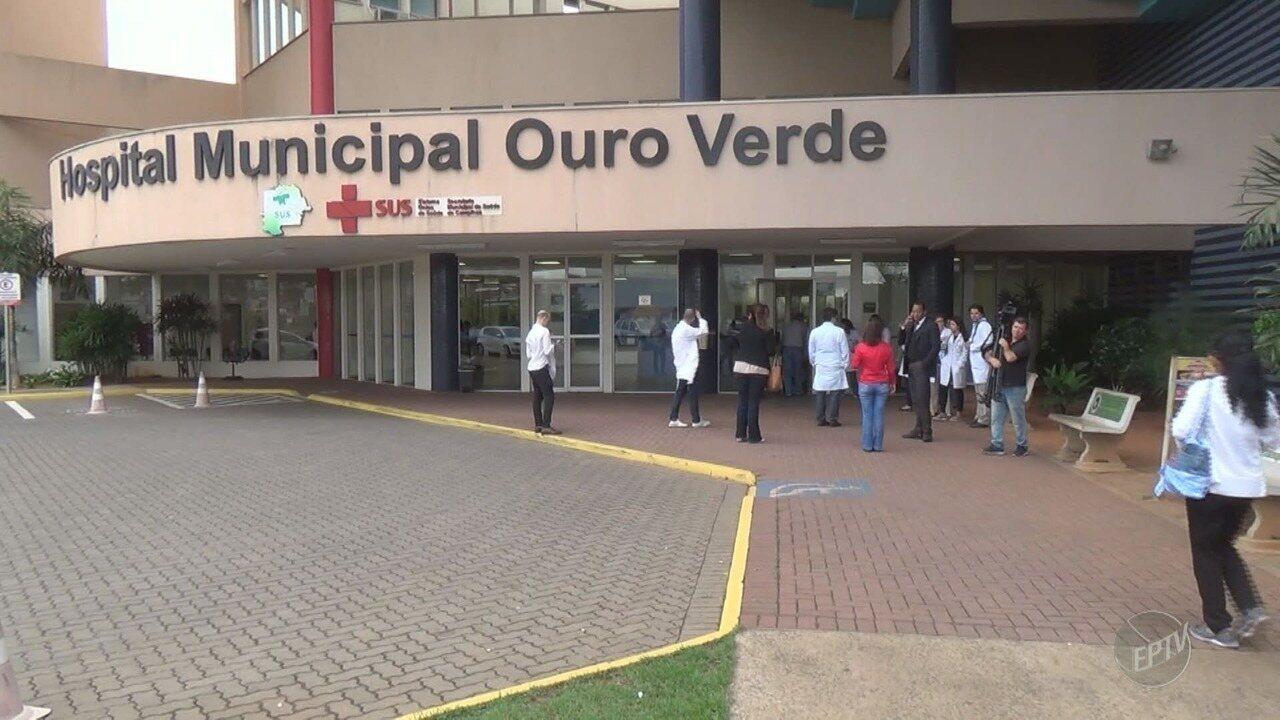 Médicos iniciam greve no Hospital Ouro Verde, em Campinas