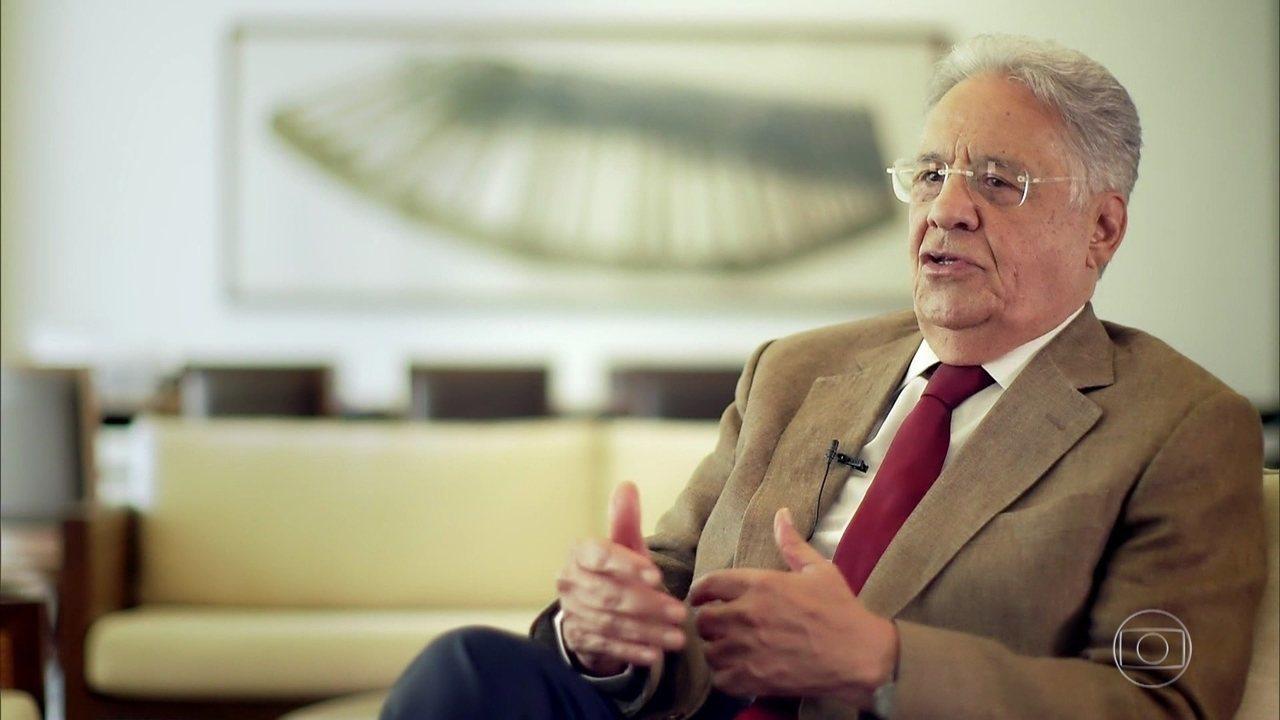 Fernando Henrique Cardoso fala sobre a importância do livro de Jorge Caldeira