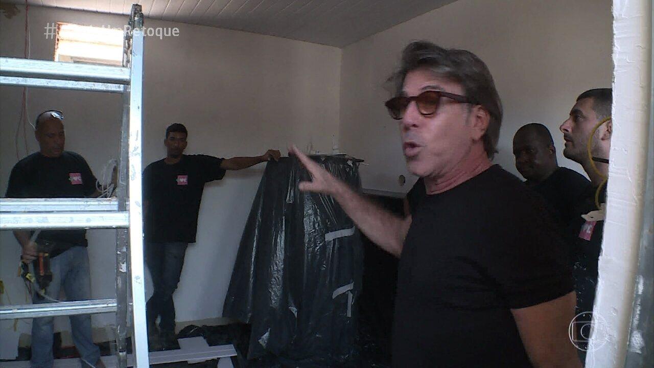 Jairo de Sender mostra detalhes do retoque no apartamento de Mayriane