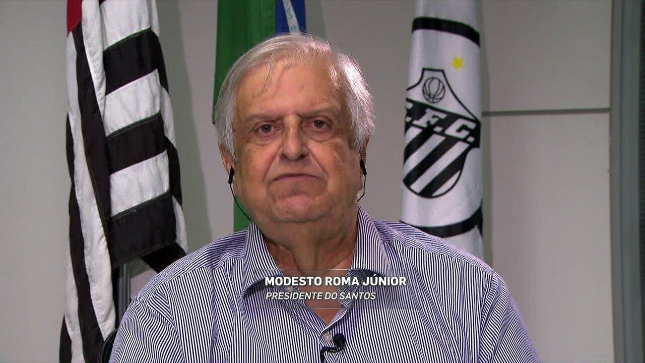Presidente do Santos: jornalistas se precipitam ao anunciar demissão de Levir