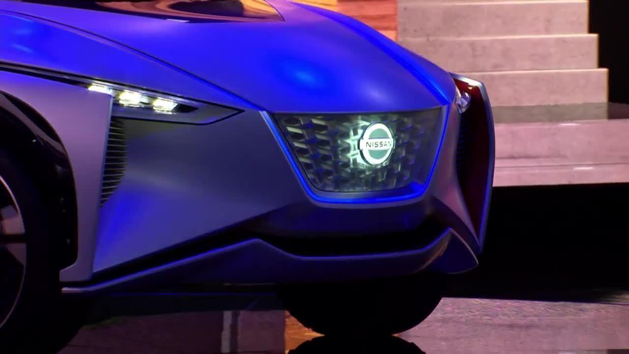 Nissan mostra crossover elétrico para um futuro próximo