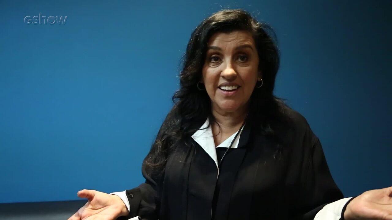 Regina Casé relembra seus trabalhos nos bastidores do 'Conversa com Bial'