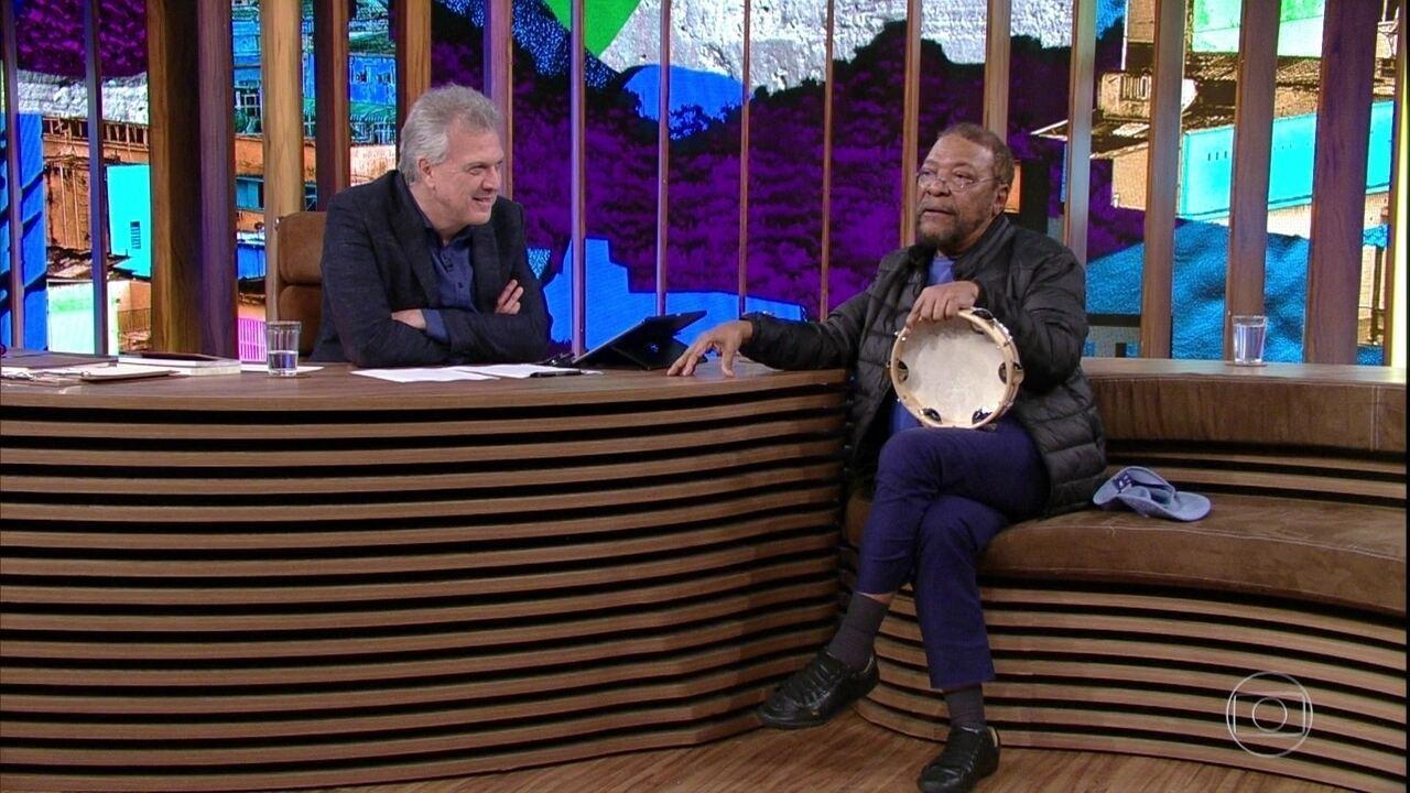Martinho fala sobre música que compôs para Mandela