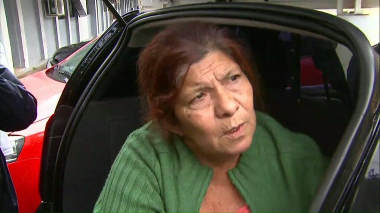 Mulher suspeita de tráfico de pessoas é transferida para a cadeia de Corbélia