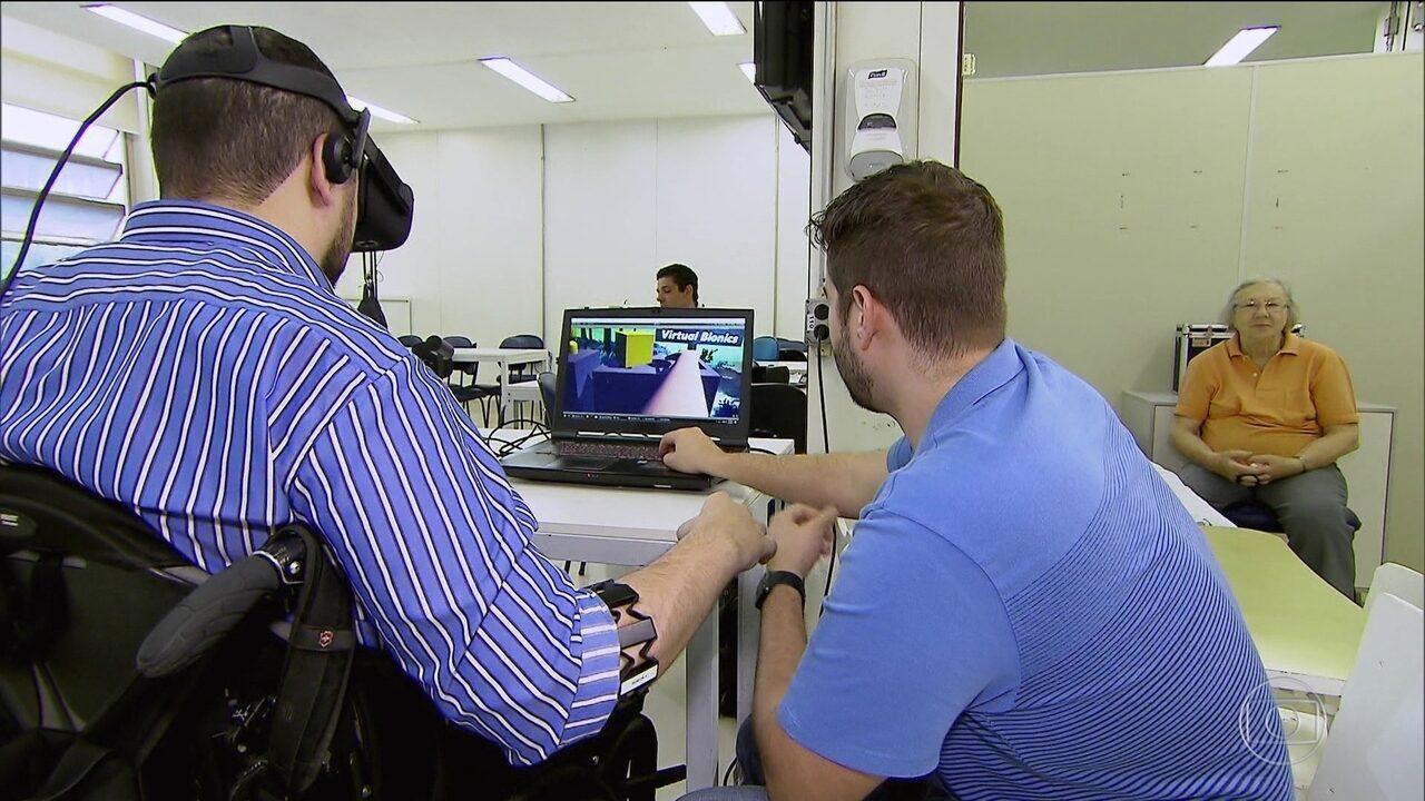 Resultado de imagem para Projeto de hospital em SP ajuda quem perdeu movimentos do corpo