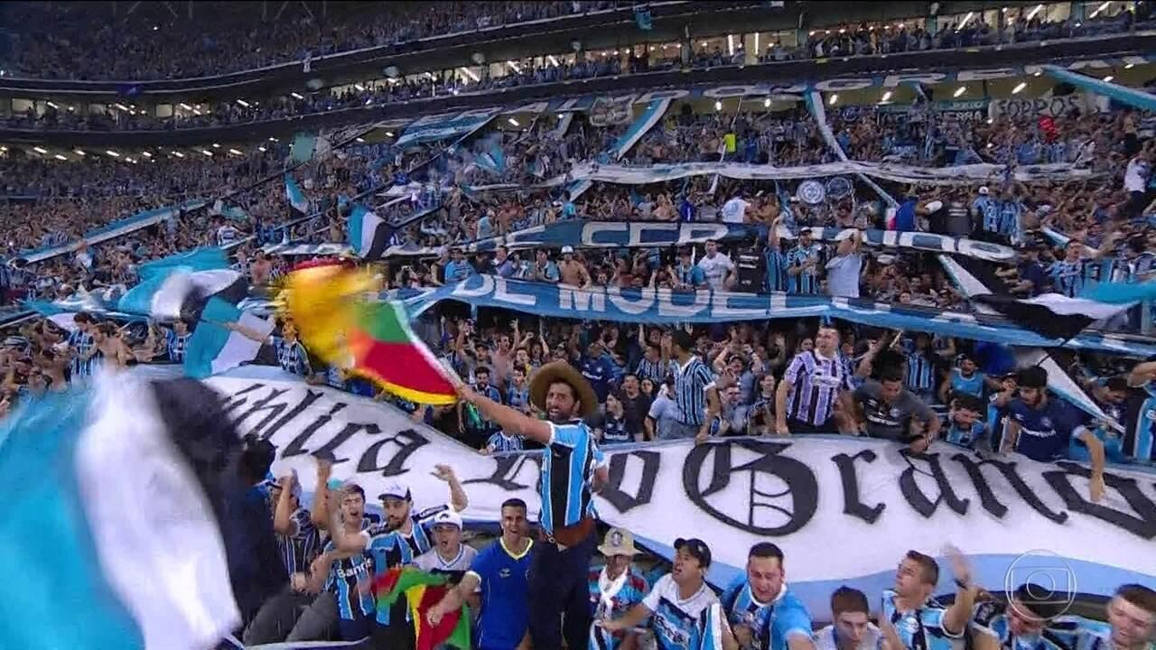 Globo Esporte RJ | Grêmio leva susto, perde o jogo, mas ...