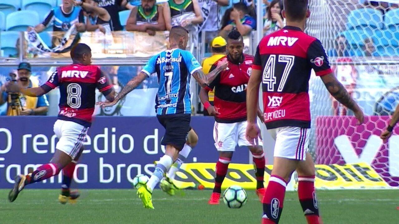 Melhores momentos de Grêmio 3 x 1 Flamengo pela 32ª rodada do Campeonato  Brasileiro 70551697ae07c