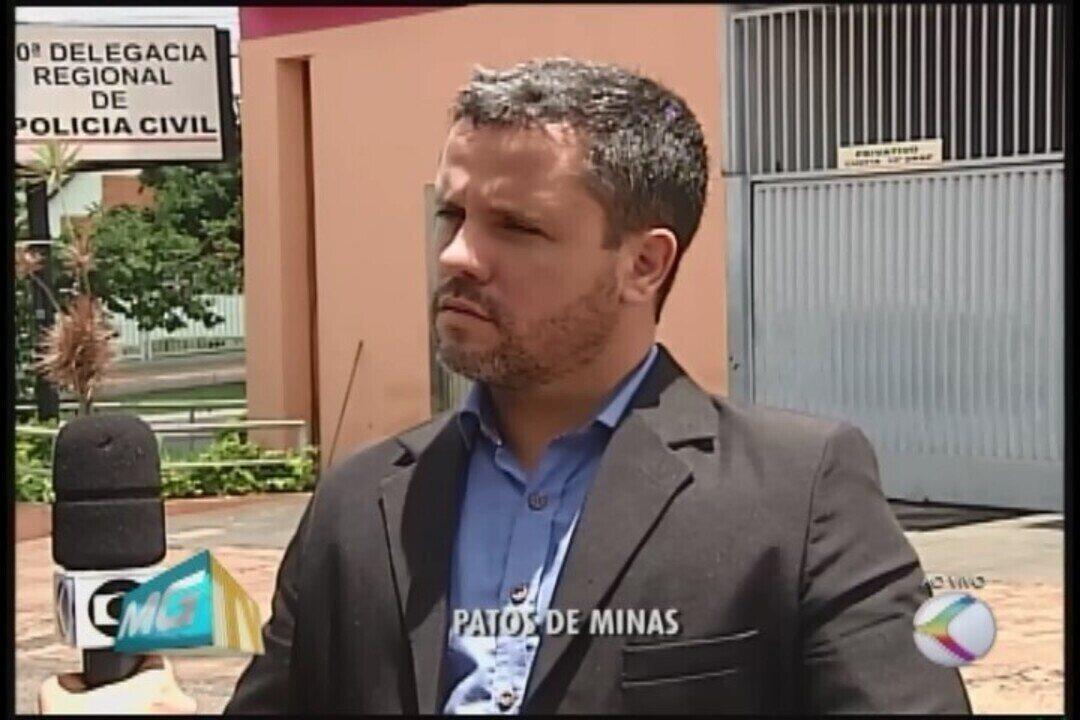Pai arrama filha após ser agredido em Patos de Minas