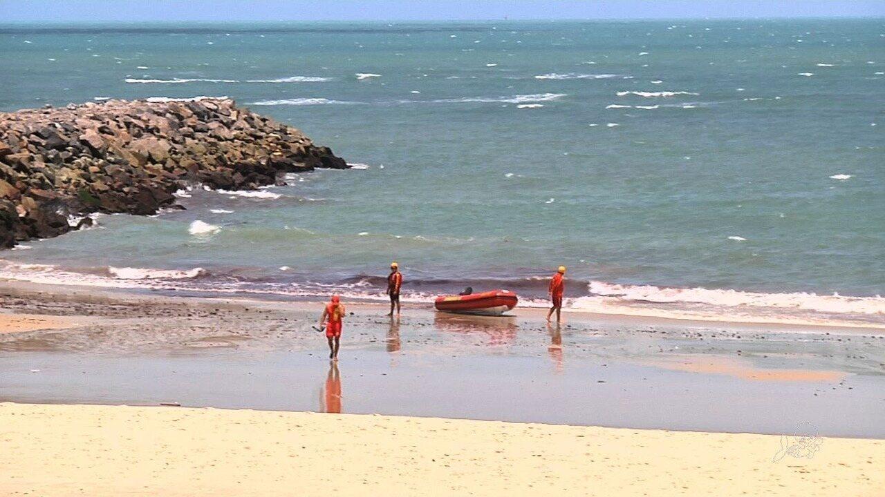 Turista do Piauí desaparece em praia no Ceará
