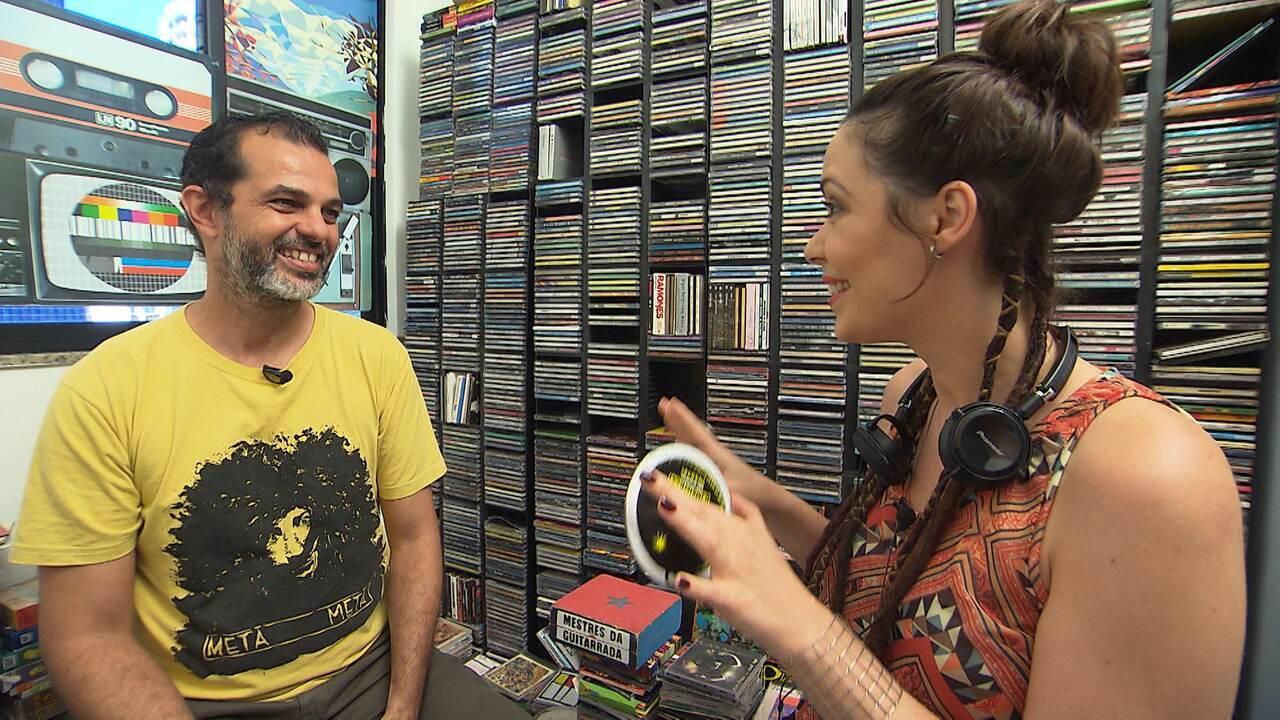 Cantor Luiz Caldas e crítico Luciano Matos falam do impacto da internet no mundo da música