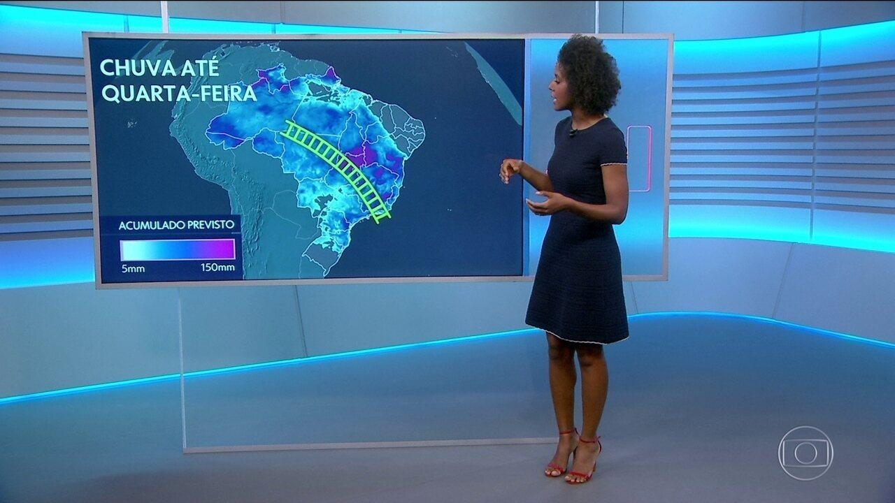 Veja a previsão do tempo para a sexta-feira (10) em todo o Brasil