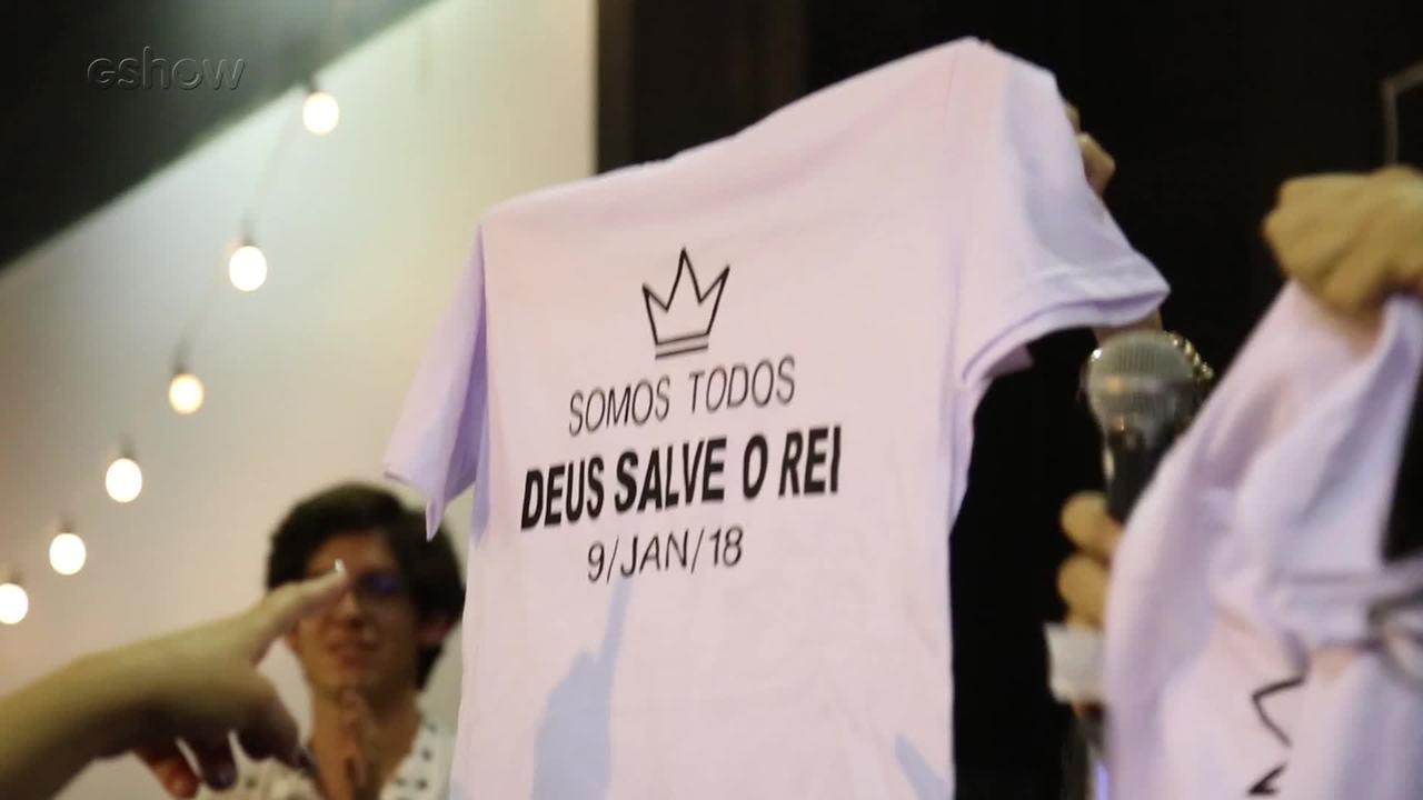 #DeusSalveoRei