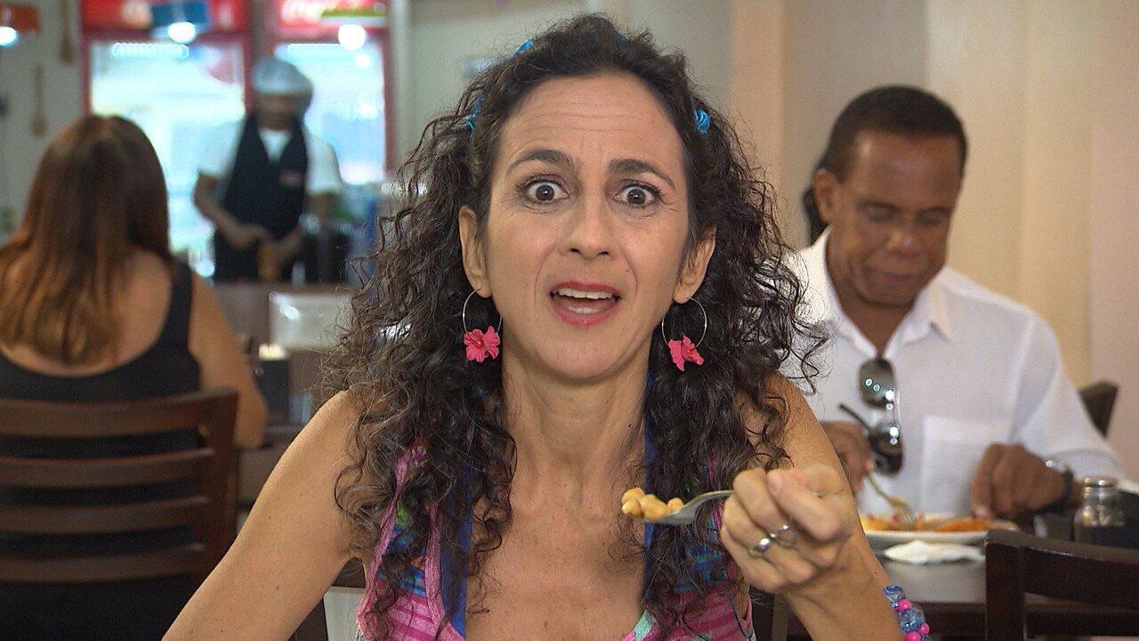 Maria Menezes mostra as situações pitorescas vivenciadas nos restaurantes a quilo