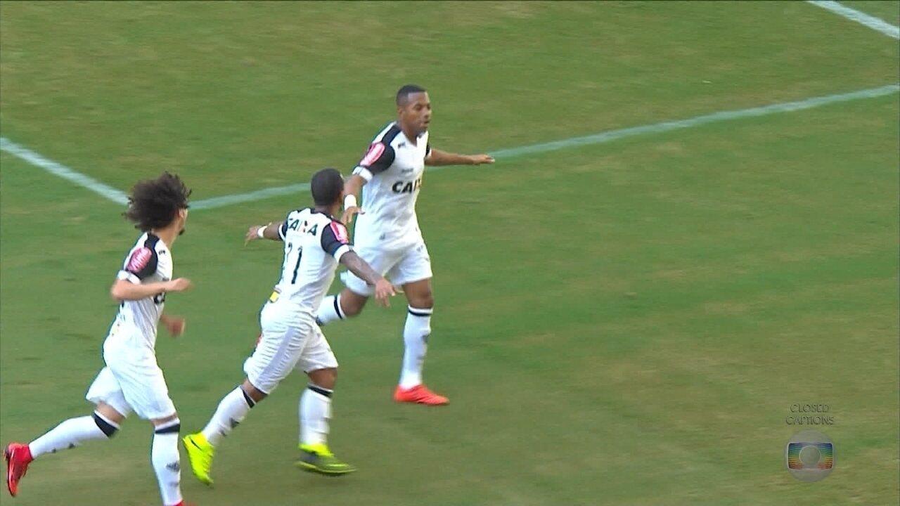 Com dois gols de Robinho, Atlético-MG empata com o Bahia, em Salvador