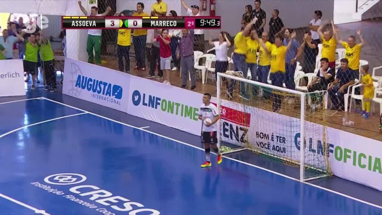 Top 5: Gols da semifinal da Liga Nacional de Futsal