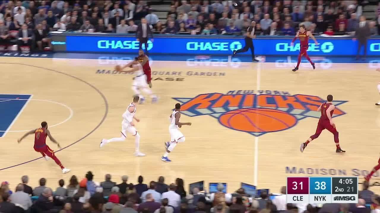 Melhores momentos: Cleveland Cavaliers 104 x 101 New York Knicks pela NBA