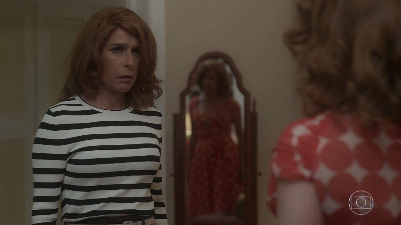 Vilma rompe com planos de Vera e diz que a megera terá que sumir