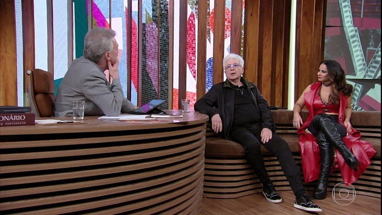 Aguinaldo Silva fala sobre sua relação com Viviane Araújo
