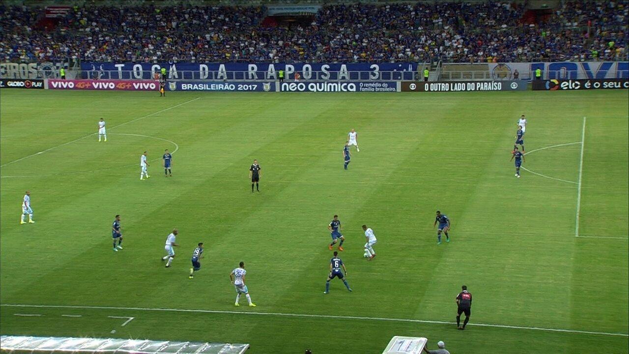 Melhores momentos: Cruzeiro 2 x 2 Avaí pela 35ª rodada do Brasileirão