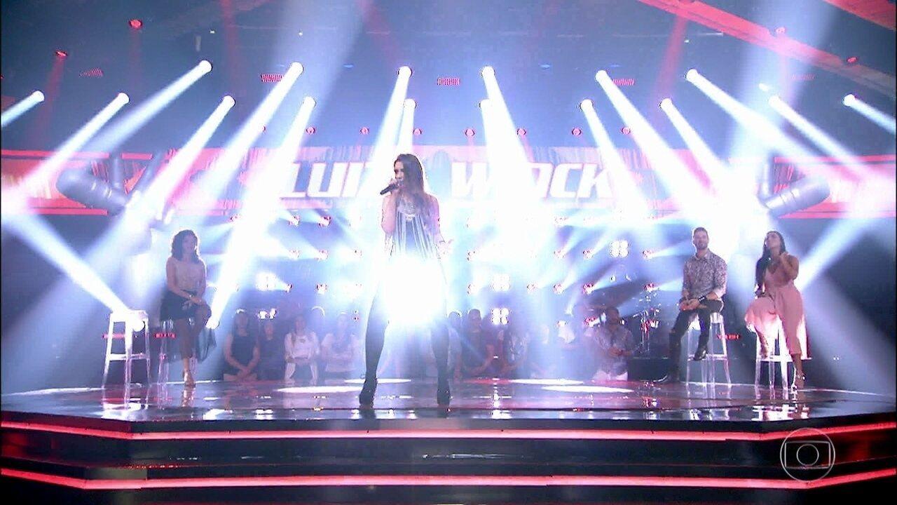 """Luiza Winck canta """"You And I"""""""