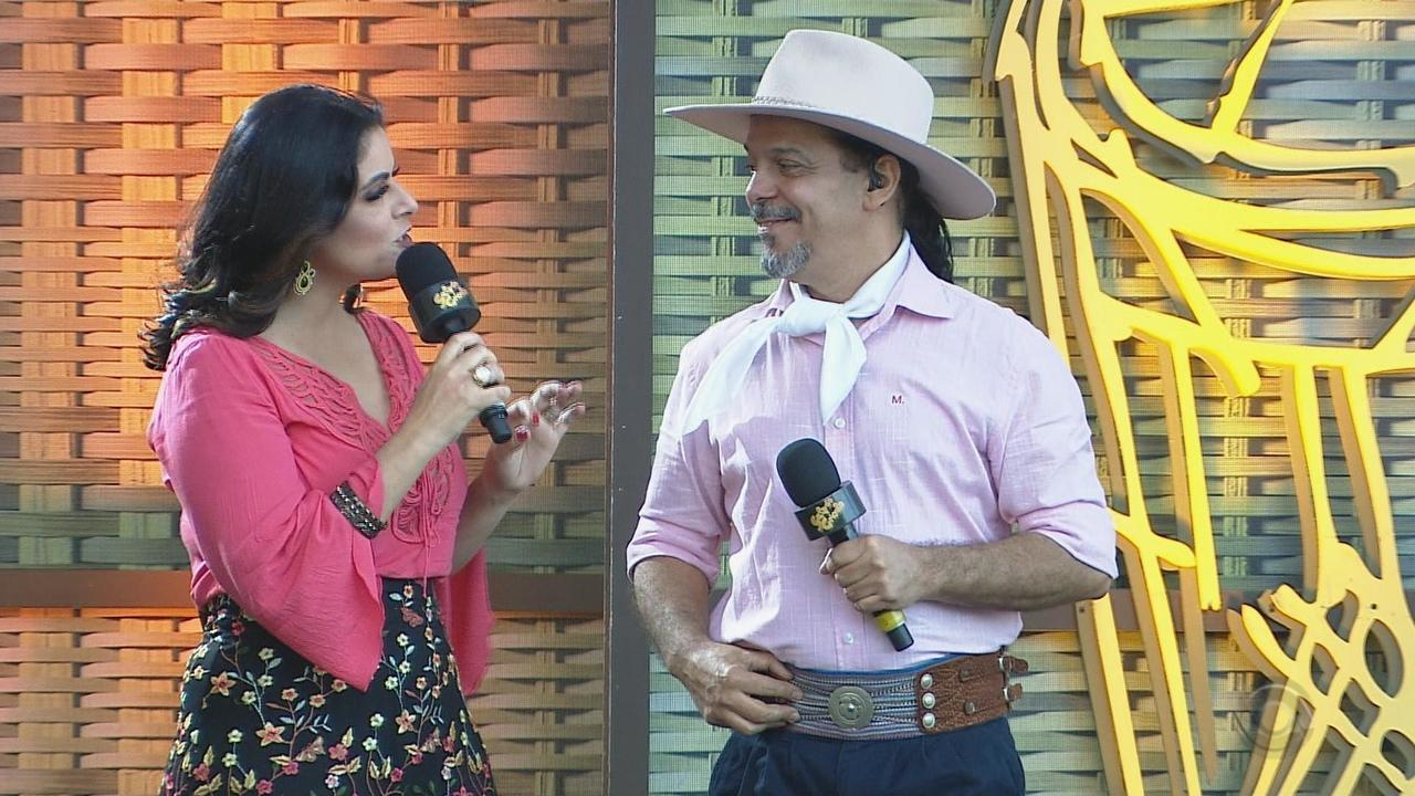 Cristiano Quevedo e Loma cantam no 'Galpão' na Festa Nacional da Música (bloco 3)