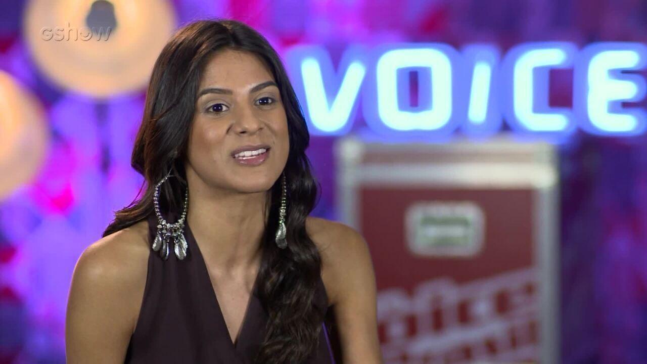 Mariana Coelho fala sobre ter sido escolhida pelo técnico no Tira-Teima