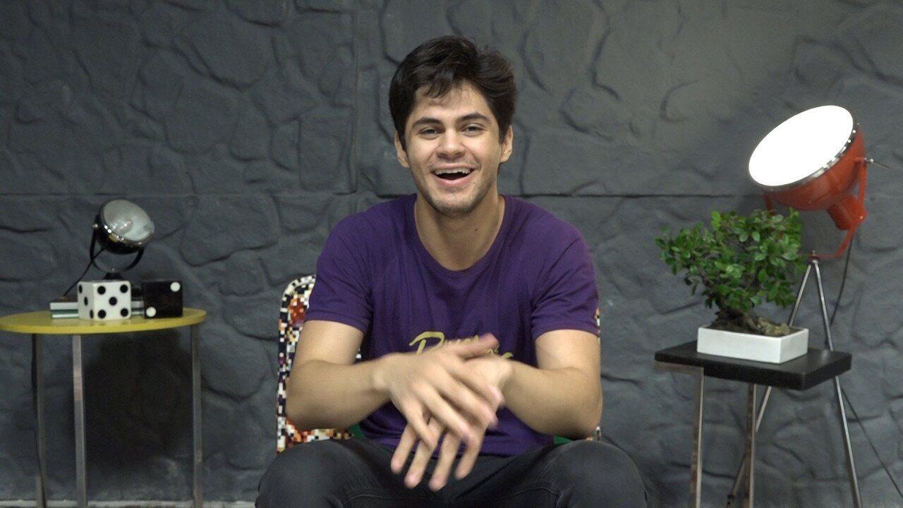 Lucas Veloso comenta momento no 'Dança do Famosos'